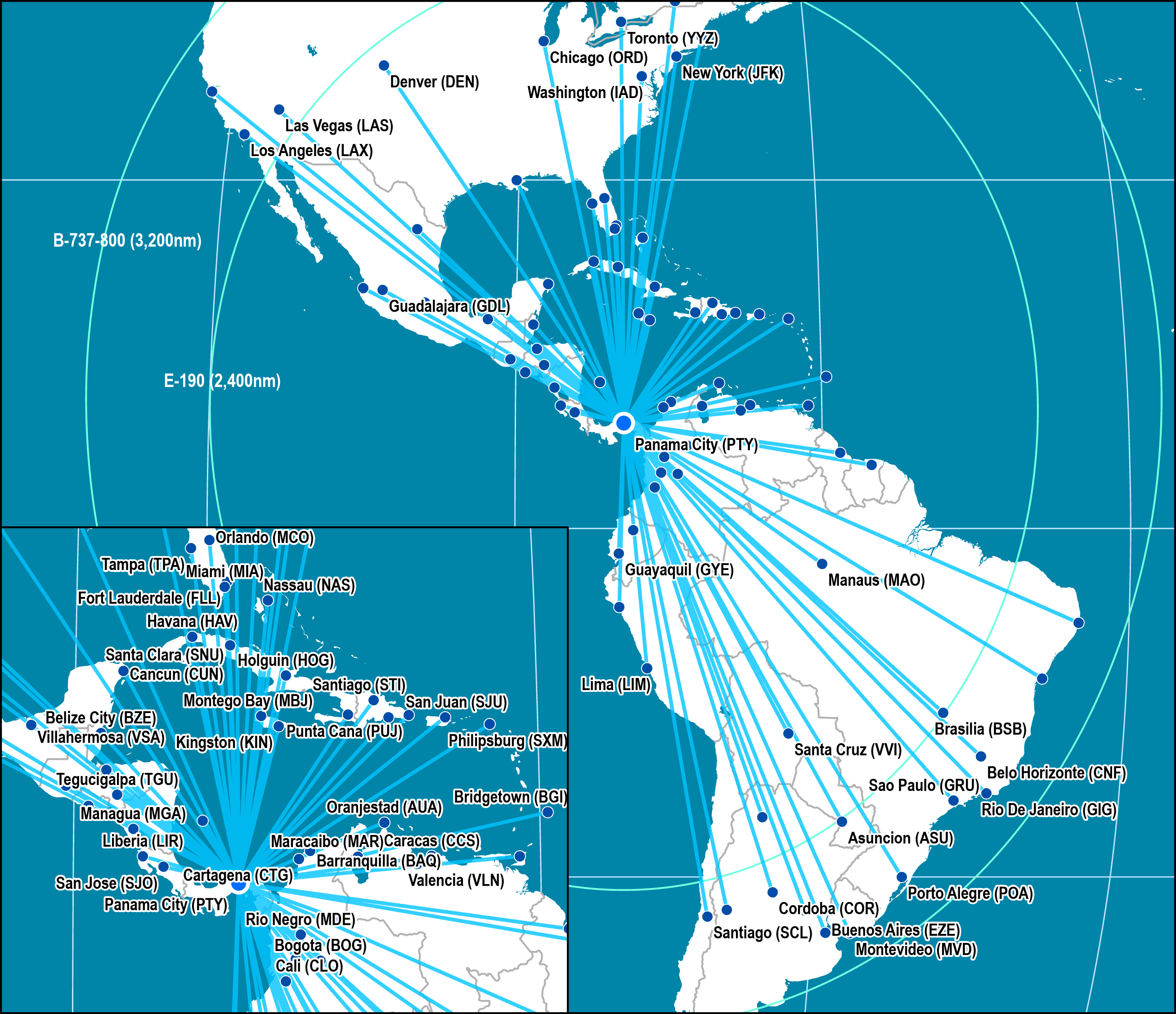 latitudinal intermediacy: copa airlines | the geography of