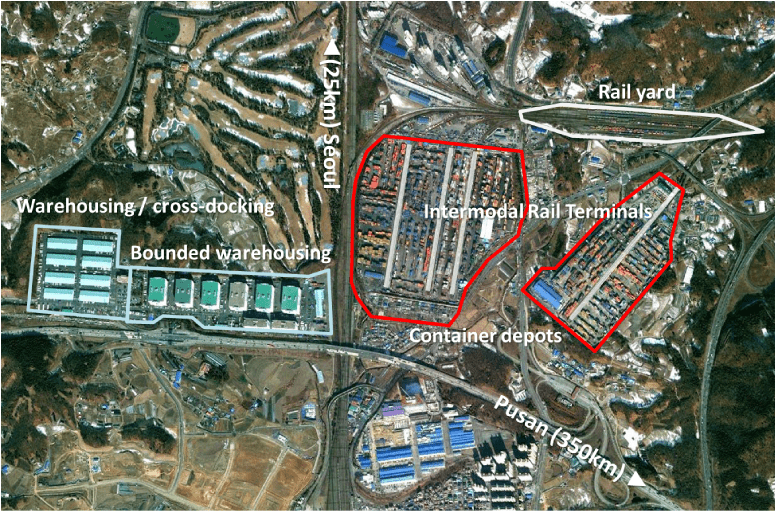 Uiwang Inland Container Depot, South Korea | The Geography